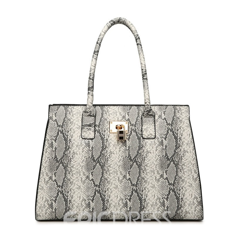 Ericdress European Serpentine PU Handbags