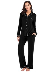 Ericdress coupon: Ericdress Color Block Pocket Long Sleeve Single-Breasted Pajama Suit