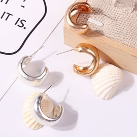 Ericdress Classic Alloy Earrings