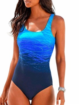 Ericdress Sexy One Piece Color Block Swimwear
