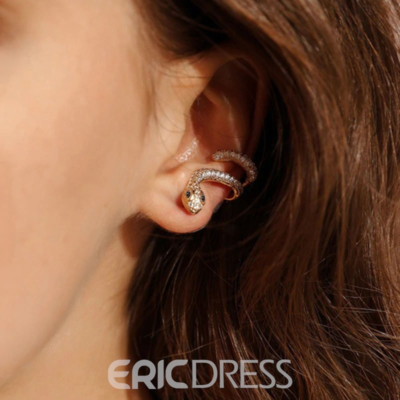 Ericdress Alloy Animal Prom S-shaped Earrings
