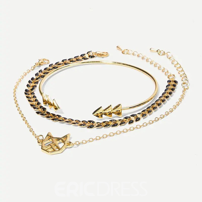 Ericdress Cat Geometric Bracelets For Women