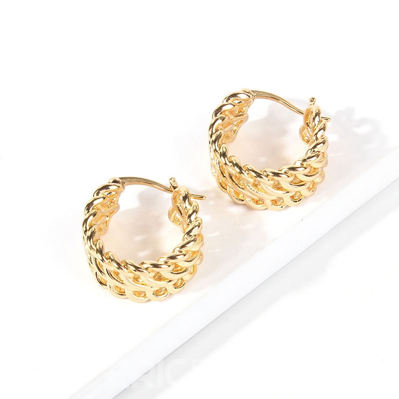 Ericdress European Hoop Party Earrings