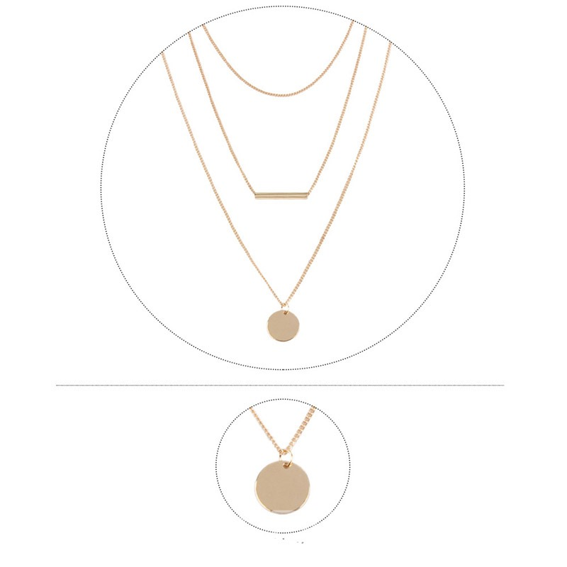 Ericdress Simple Pendant Necklace