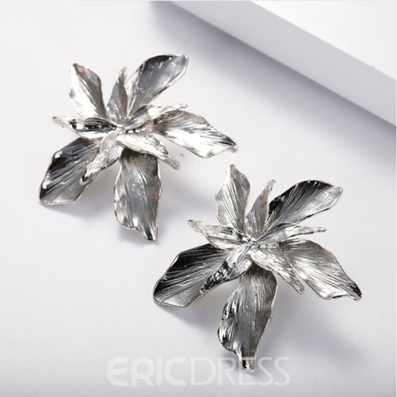 Ericdress Flower Alloy Earrings For Women