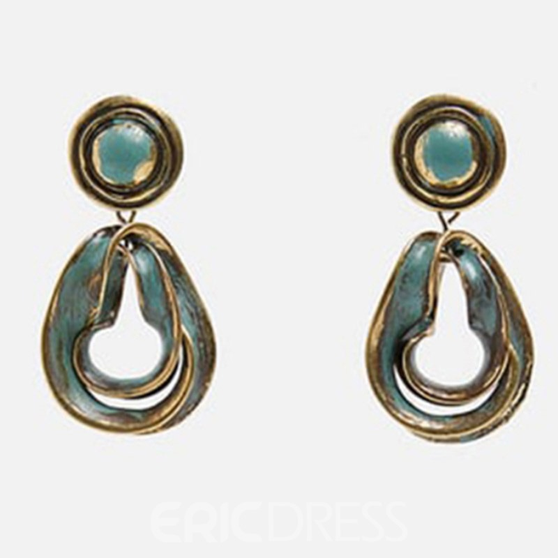 Ericdress Alloy Vintage Prom Earrings