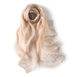Ericdress Silver Wire Silk Scarf Scarf  - buy with discount