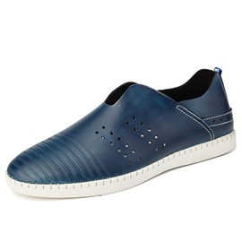 Ericdress PU Round Toe Slip-On Men's Comfortable Shoes