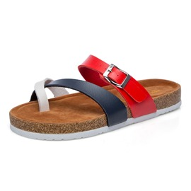 Ericdress Color Block Toe Ring Buckle Women's Slippers