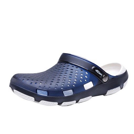 Ericdress PVC Hollow Men's Beach Sandals