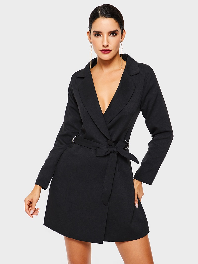 Ericdress_Long_Sleeve_Plain_LaceUp_Notched_Lapel_Office_Lady_Blazer