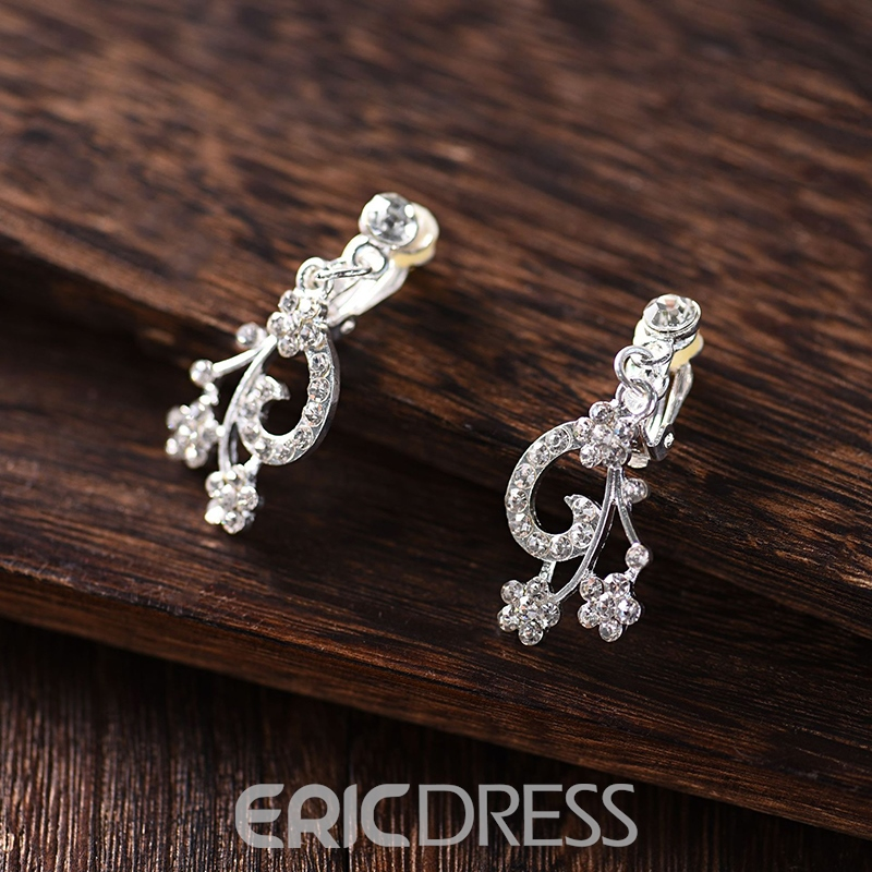 Floral Gemmed European Jewelry Sets