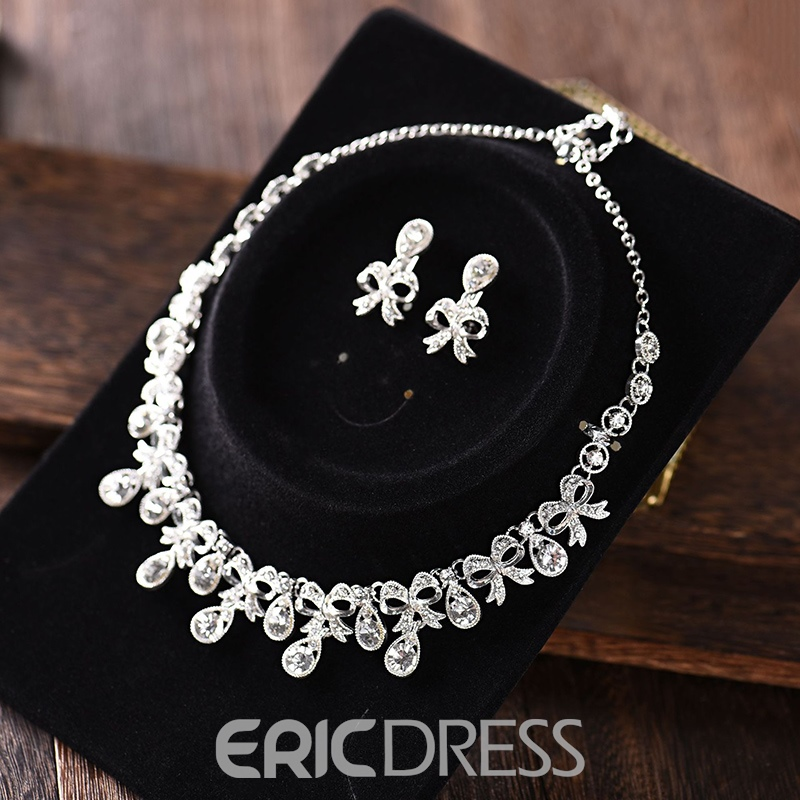 Floral Earrings European Jewelry Sets