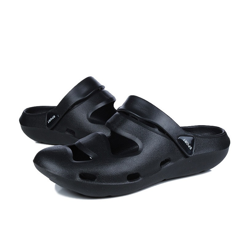 Ericdress PVC Camouflage Slip-On Round Toe Men's Sandals