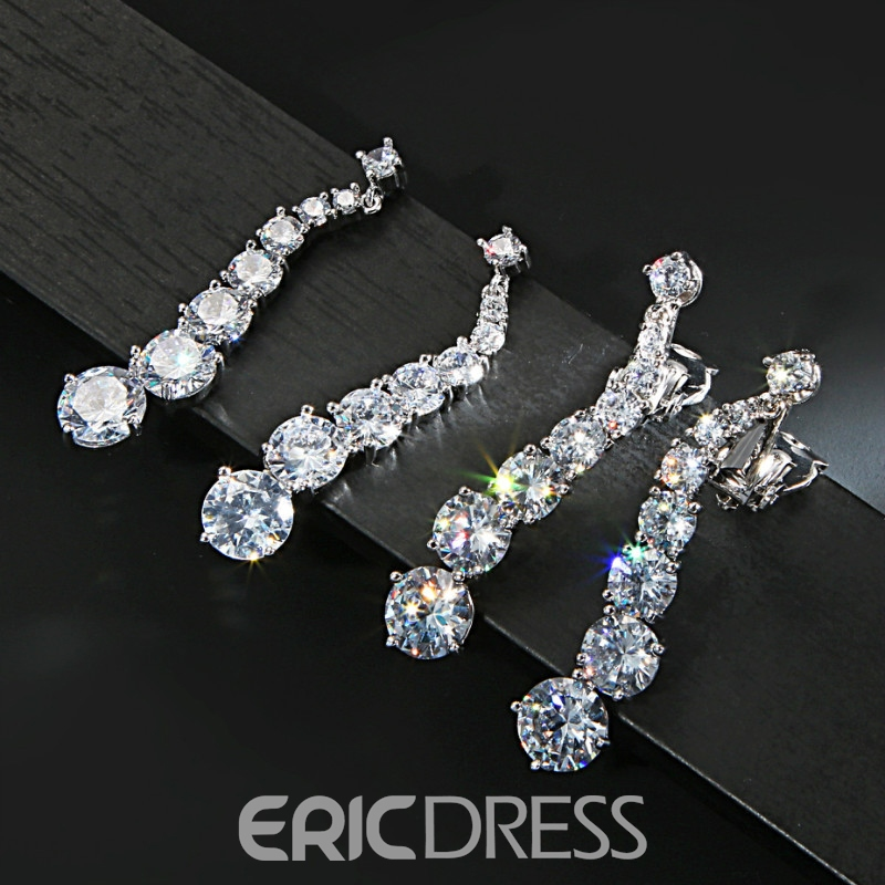 Ring European Gemmed Jewelry Sets