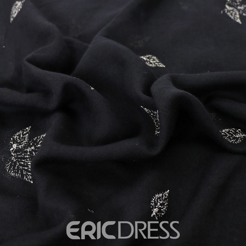 Ericdress Embroidery Vintage Plant Scarf