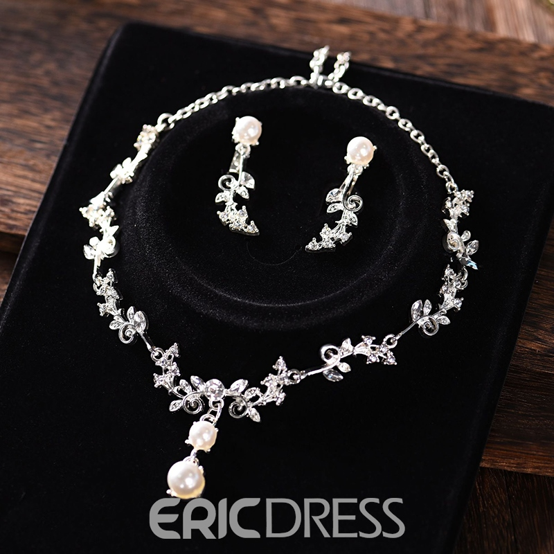 Necklace Spherical European Jewelry Sets