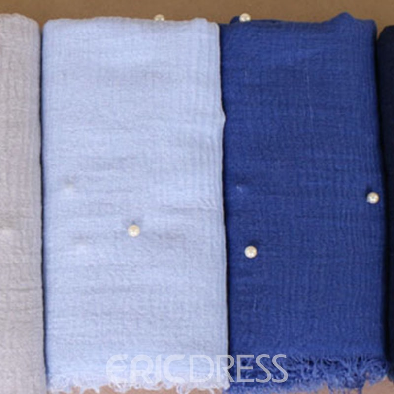 Ericdress Bead Plain Scarf