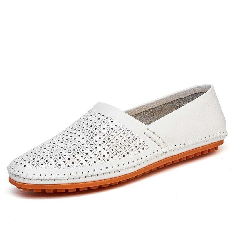 Ericdress PU Hollow Slip-On Round Toe Men's Shoes
