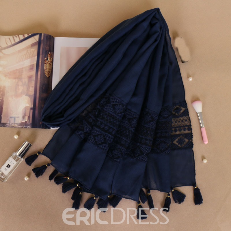 Ericdress Tessel Vintage Scarf