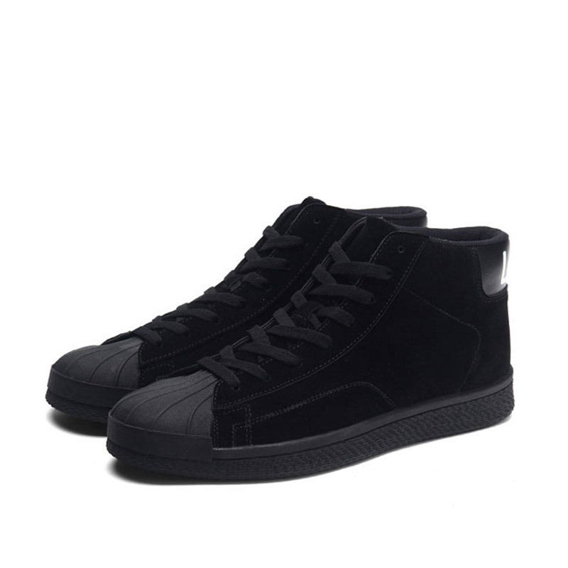 Ericdress Patchwork Round Toe Lace-Up Men's Skate Shoes
