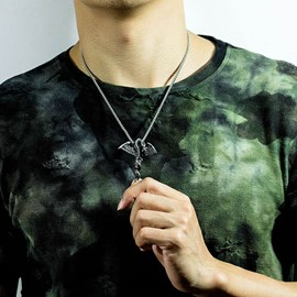 ericdress dragon animal collar masculino