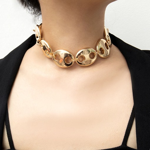 Ericdress Big Nose Alloy Necklaces