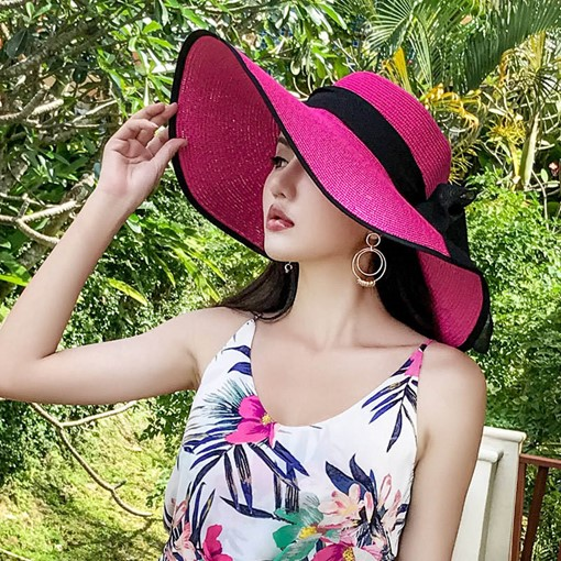 Ericdress Bowknot Sun Summer Hat