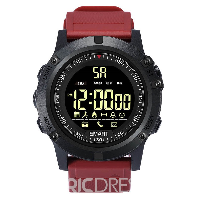 Ericdress Alarm Bluetooth Round Watch