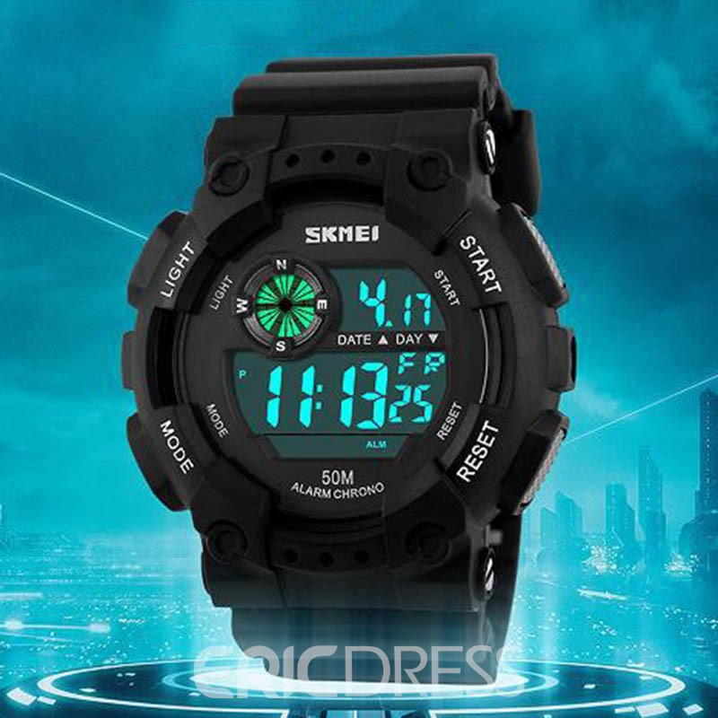 Ericdress Hardlex Multiple Time Zone Watches