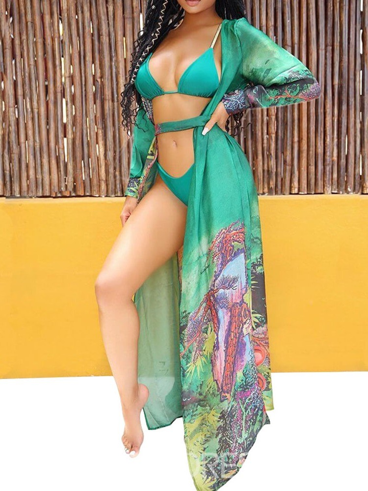 Ericdress Colorful Sexy Bikini Set Swimwear