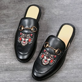 pantoufles ericdress animal slip-on hommes