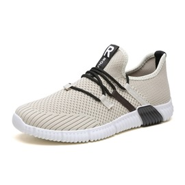 Ericdress Patchwork Lace-Up Low-Cut Upper Mesh Men's Sneakers