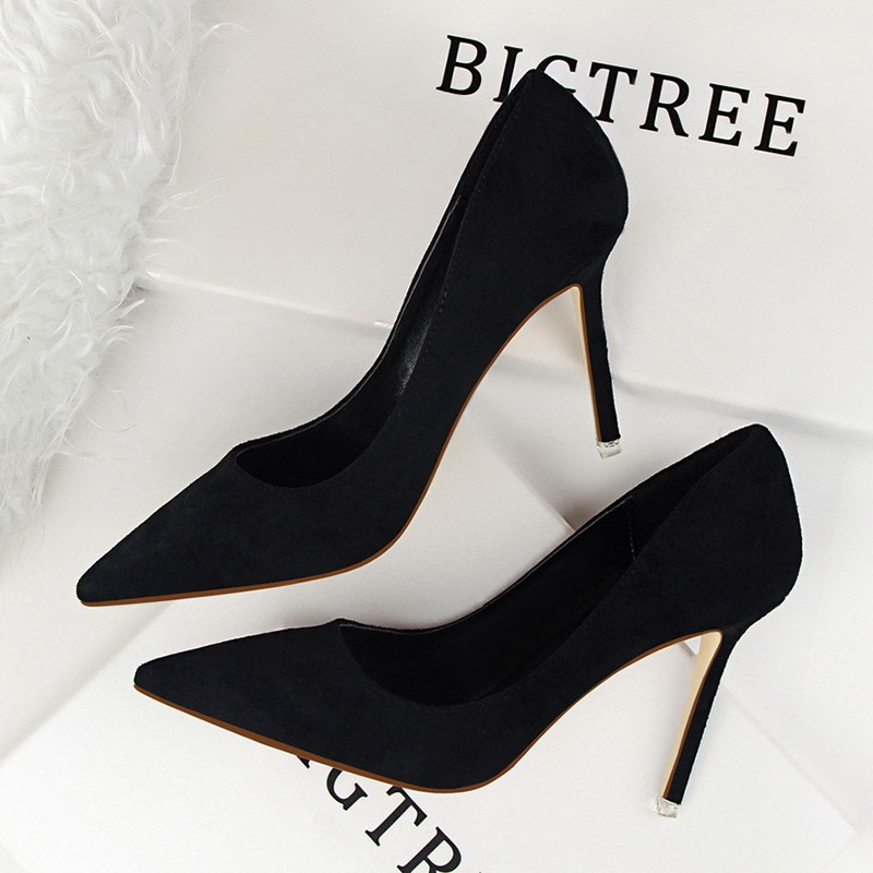 Ericdress_Faux_Suede_Plain_Stiletto_Heel_Pointed_Toe_Womens_Pumps