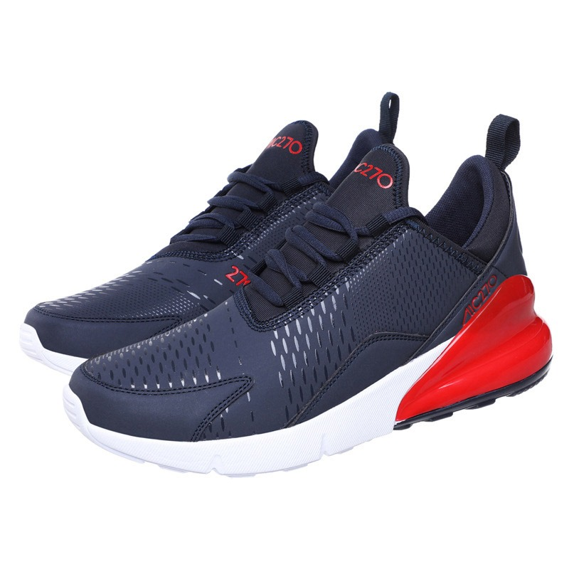Ericdress Mesh Patchwork Lace-Up Round Toe Men's Breathable Sneakers