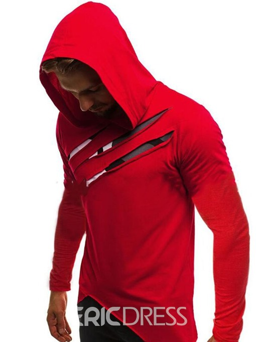 Ericdress Pullover Straight Men's Hoodies