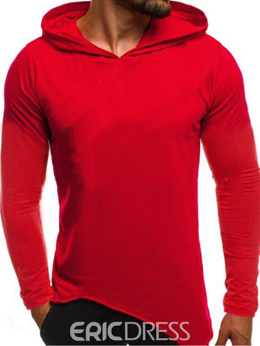 Ericdress Pullover Men's Straight Hoodies