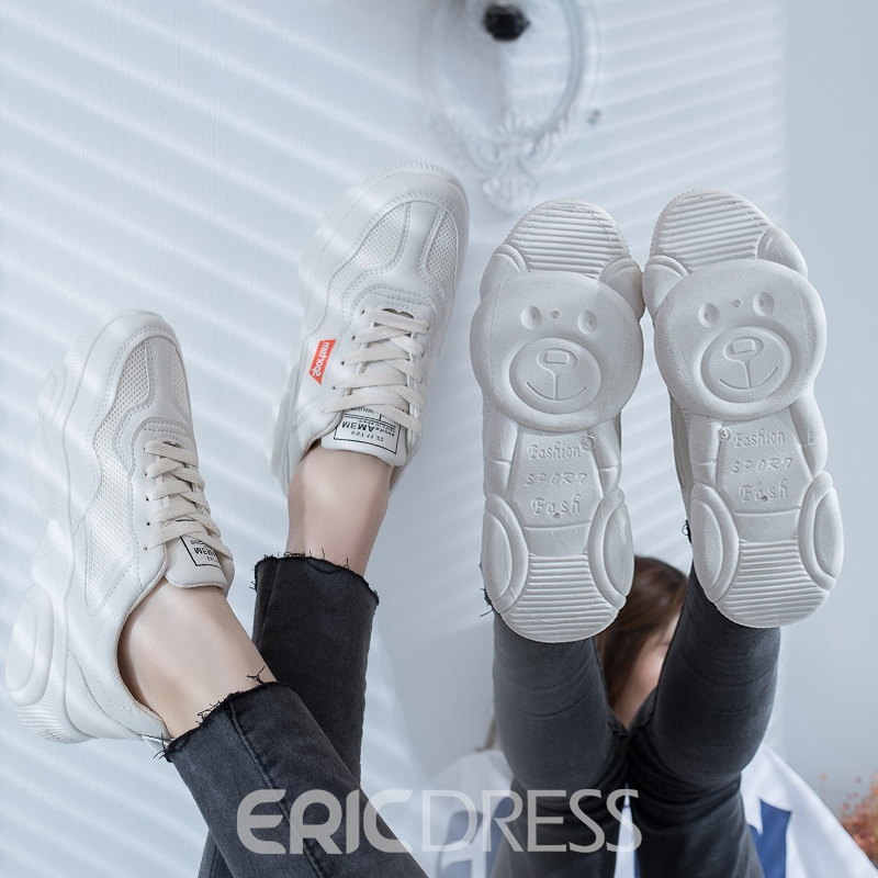 Ericdress Mesh Round Toe Women's Breathable Sneakers