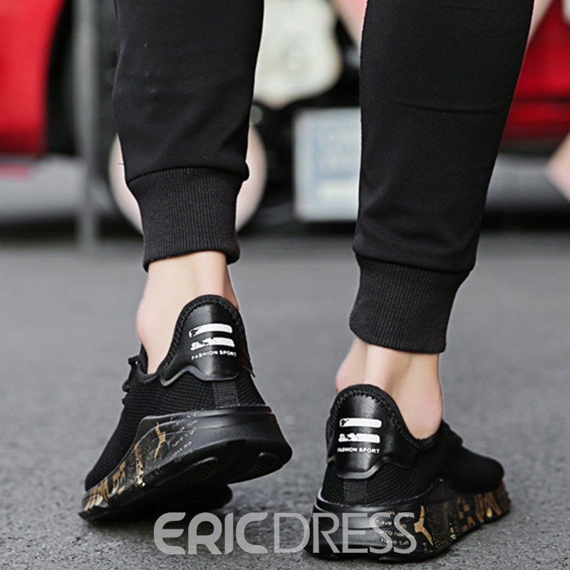 Ericdress Plain Mesh Round Toe Men's Athletic Shoes