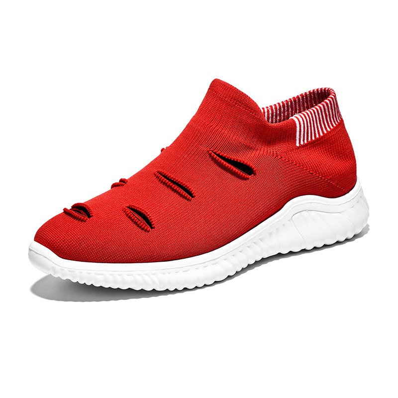 Ericdress Breathable Mesh Slip-On Men's Sneakers