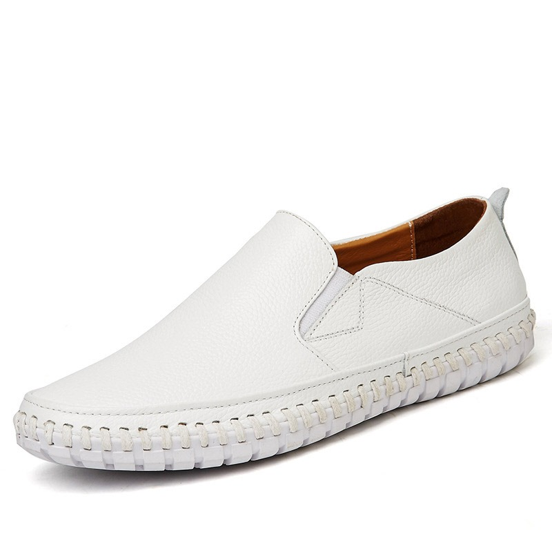 Ericdress Plain Sewing Round Toe Men's Casual Shoes