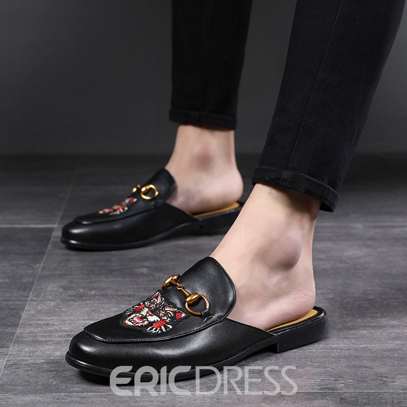 Ericdress Animal Slip-On Men's Slippers