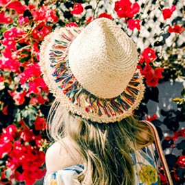 Ericdress Tassel Summer Hat