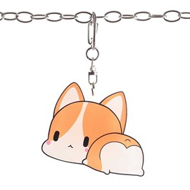 Ericdress Corgi Key Chains
