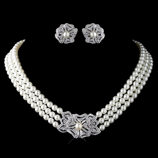 Korean Necklace Spherical Jewelry Sets