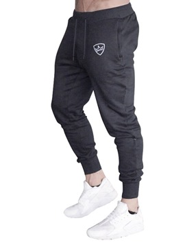 Ericdress Plain Lace-Up Baggy Spring Mens Casual Casual Pants