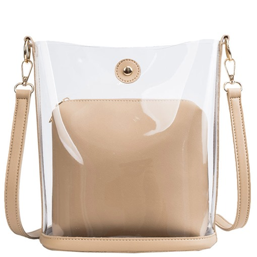 Ericdress PU Thread Plain Barrel-Shaped Shoulder Bags