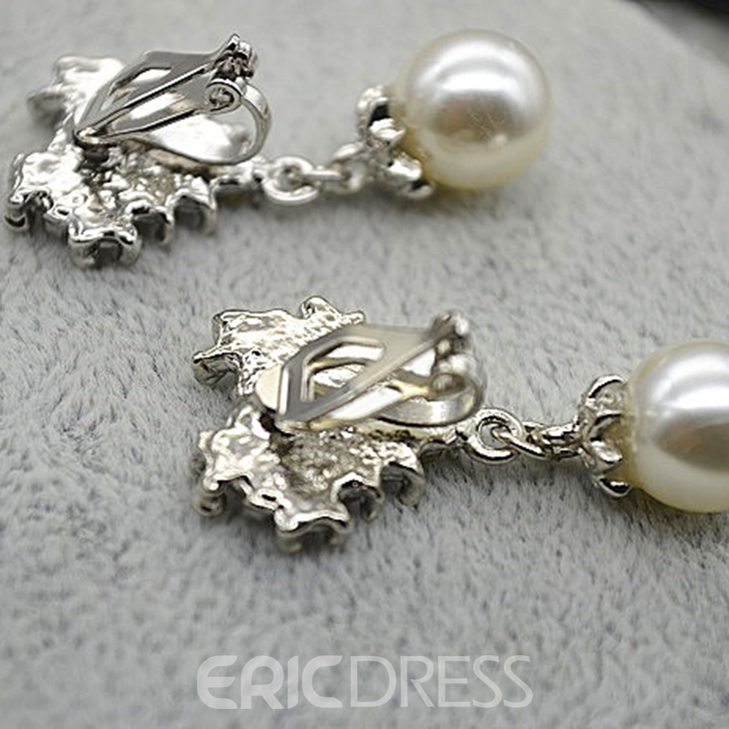 Diamante Earrings Korean Jewelry Sets