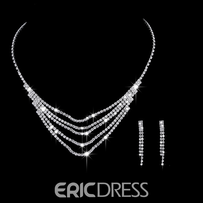 Necklace Polka Dots European Jewelry Sets (Wedding)