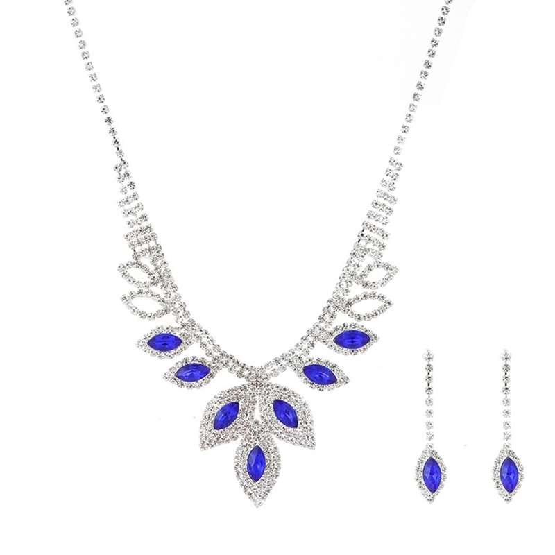 Necklace Water Drop European Jewelry Sets